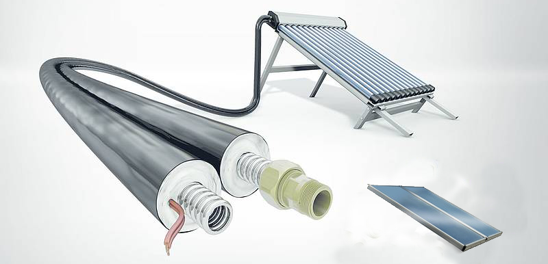 solar water heaters - flat-plate-vs-tube-collector